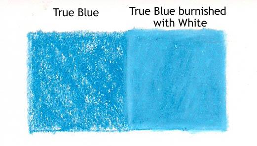true blue white