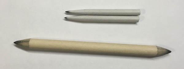 drawing materials tortillions and blending stump