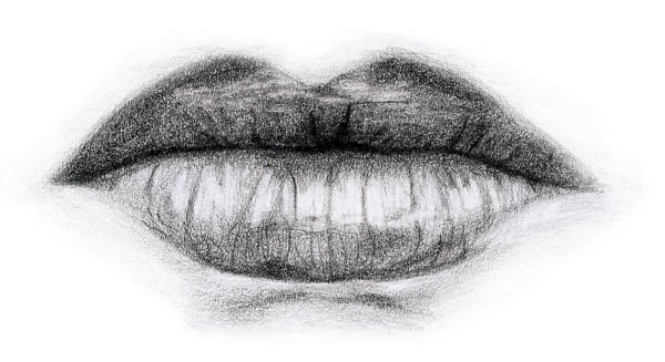 Line Art Lips : How these very different sketches of lips can help you