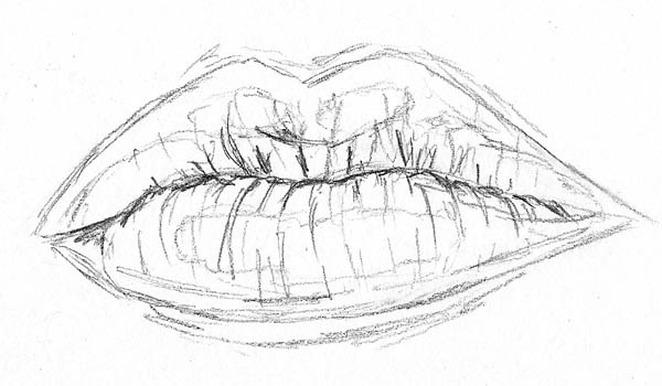 How These 16 Very Different Sketches of Lips Can Help You