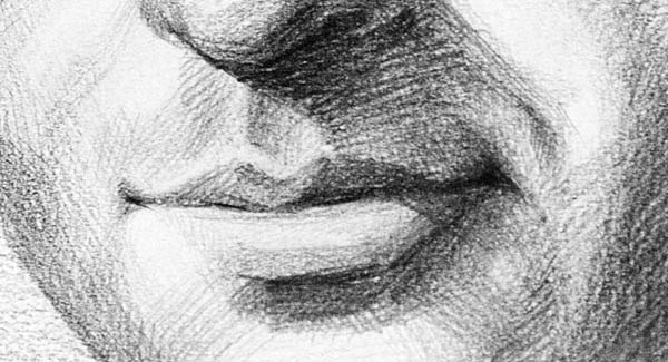 sketches of lips smiling lips sketch 02
