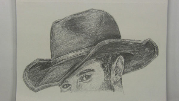 How to Draw a Cowboy Hat | Let's Draw People