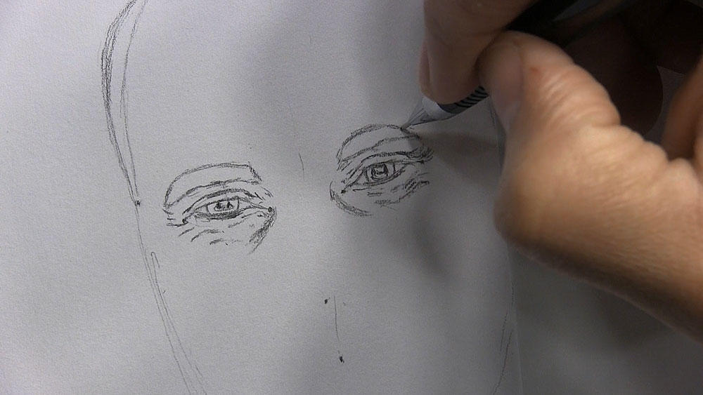 How To Use Plot Points To Make Observational Drawing Easier Lets
